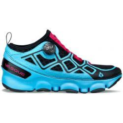Vasque Ultra SST Trail Running Shoe - Women's-Horizon Blue/Bright Rose-Medium-6 US