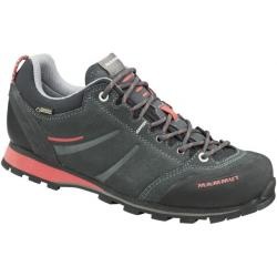 Mammut Wall Guide Low GTX Approach Shoe - Women's-Graphite/Barberry-Medium-8