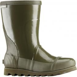 Sorel Joan Rain Short Gloss Rubber Boot - Women's-Nori/Zest-Medium-6