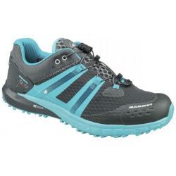 Mammut MTR 201-II Low Trail Running Shoe - Women's-Graphite/Light Pacific-Medium-6.5