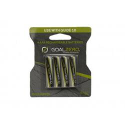 Goal Zero Rechargeable AAA Batteries and Adaptor