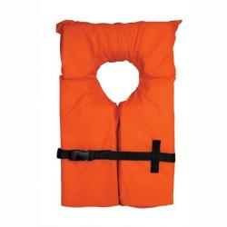 Airhead Kids Type II Keyhole Life Vest, Orange
