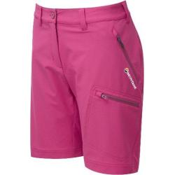 Montane Dyno Stretch Short - Women's-French Berry/Antarctic Blue-10