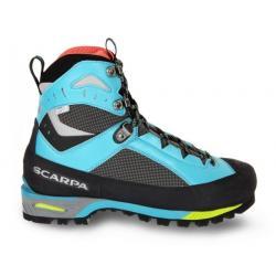 Scarpa Charmoz Mountaineering Boots - Women's, Shark/Maldive, Medium, 37