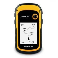 Garmin eTrex 10 Handheld Paperless Geocaching GPS Navigator, Yellow