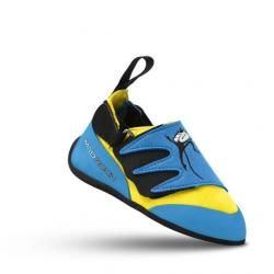 Mad Rock Mad Monkey 2.0 Kids Climbing Shoes, Baby Blue/Yellow, 8 US