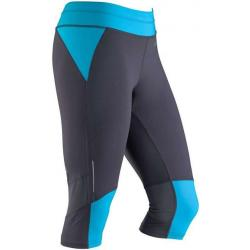 Marmot Impulse 3/4 Tight - Women's -Dark Steel/Atomic Blue-Regular Inseam-X-Small