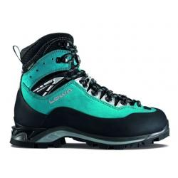 Lowa Cevedale Pro GTX Mountaineering Boot - Women's, Turquoise/Black, 5.5, Medium