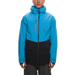 c5d589474738f7 686 Hydrastash Reservoir Insulated Jacket - Mens, Bluebird Colorblock, Large