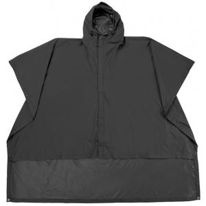 Sierra Designs Poncho, Black, Large/Extar Large