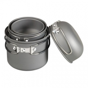 6 piece essentials cookware mess kit- Save 27% Off - Shop NDuR 6 Piece Essentials Cookware Mess Kit-22600 with Be The First To Review  + Free Shipping over $49.