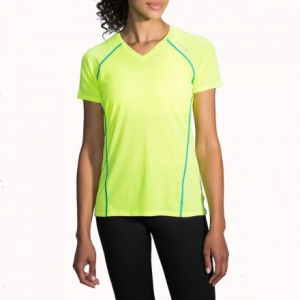 distance short sleeve running shirt - women's- Save 20% Off - Shop Brooks Distance Short Sleeve Running Shirt - Women's-221178340, 221178685 with Be The First To Review  + Free Shipping over $49.