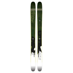 faction chapter 116 skis-198- Save 33% Off - Faction Backcountry Skiing Chapter 116 -198 SKI1617CHP116198. Generous sidecut and transition zone technology let you turn on a dime should things get hairy whilst the 116mm waist and slight rocker in the tip and tail let you get your surf on when the tide is high. Slight camber underfoot and solid poplar/ash core let you rock out piste turns on the way home