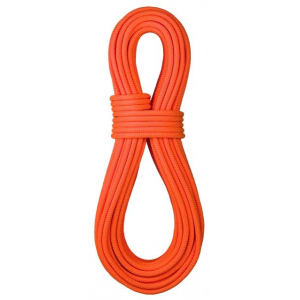 bluewater ropes 9.2mm canyon climbing rope-black-dry cover-200 m- Save 10% Off - BlueWater Ropes Climb 9.2mm Canyon ing Rope-Black-Dry Cover-200 m 5267200MBK. 100percent nylon core with 100percent polyester sheath. Excellent diameter to strength ratio. The 9.2 Canyon DS (Dual Sheath) evolved from the Canyon rope. The innovative hybrid sheath design utilizes alternating strands of polyester and Technora for increased cut resistance. This unique mix gives the skinny rope a whopping 5000 lbf tensile strength.