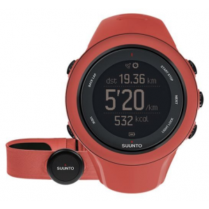 suunto ambit3 sport hr multisport gps watch with heart rate, coral- Save 4.% Off - Suunto Camp & Hike Ambit3 Sport HR Multisport Gps Watch With Heart Rate Coral SS021469000. The running performance and sleep recovery measurements combined with full route navigation give you the tools to progress and explore. Use the Suunto Movescount App to plan your workouts and get voice guidance during your run. With the app you can adjust the watch on the go and relive and share your experience.