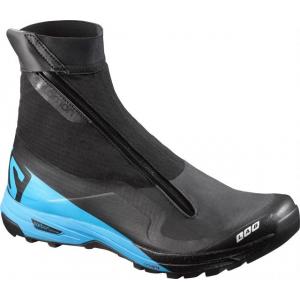 salomon s-lab xa alpine trail running shoe - men's-black/blue/red-medium-9.5- Save 25% Off - Salomon Footwear S-Lab XA Alpine Trail Ning Shoe - Men's-Black/Blue/Red-Medium-9.5 L39121600BBR95. The S-Lab XA Alpine from Salomon is an all-mountain trail running shoe with a protective gaiter to allow exploration of any trail.