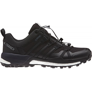 adidas outdoor terrex skychaser gtx trail running shoe - men's-blk/blk/white-medium-7- Save 20% Off - Adidas Outdoor Footwear Terrex Skychaser GTX Trail Ning Shoe - Men's-Blk/Blk/White-Medium-7 BB09387. This shoe pushes your limits with boost energy return.