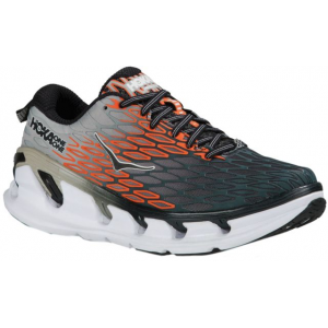 hoka one one vanquish 2 road running shoe - men's-grey/orange-medium-8- Save 29% Off - Hoka One One Footwear Vanquish 2 Road Ning Shoe - Men's-Grey/Orange-Medium-8. With a dual layer midsole engineering built with two EVA compounds the Vanquish 2 is designed to provide customary Hoka One One Ultra size cushioning. The upper features a seamless construction with an asymmetrical external web designed to give zonal support and breathability.
