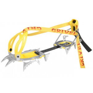 grivel air tech light crampons-regular-strap-on- Save 25% Off - Grivel Alpine & Ice Climbing Air Tech Light -Regular-Strap-on 756583. Ten points in contact with snow while your walking and twelve that bite into the slope during traverses. Designed for ski touring competitive ski mountaineering classical mountaineering routes and for high altitude or distant expeditions where weight is the determining factor. This model comes with Flex Bar which allows the foot free movement without over stressing the crampon.