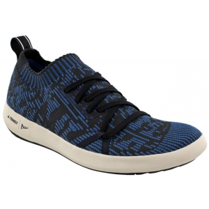 adidas outdoor terrex parley climacool boat watersport shoe - men's-core blue/core black/white-medium-7.5- Save 34% Off - Terrex Parley Climacool Boat Watersport Shoe - Men's-Core Blue/Core Black/White-Medium-7.5. This shoe revolutionizes the way we reuse plastic. Using a thread made from recycled plastics from the sea having this shoe is supporting the efforts to clean up our oceans. Join the cause