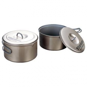 evernew titanium non-stick pot set-medium- Save 20% Off -