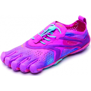 vibram fivefingers v-run road running shoe - women's-purple/blue-medium-36- Save 33% Off - Vibram FiveFingers Footwear V- Road Ning Shoe - Women's-Purple/Blue-Medium-36 16W310736. This is an ideal running shoe for those making the transition from traditional footwear to a more minimalist approach. The thin sole construction lets you feel your run connecting you to the true barefoot running experience.