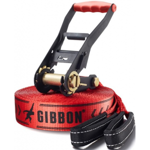 gibbon classicline slackline with treepro-49 ft-red- Save 15% Off - Gibbon Bouldering & Training Classicline Slackline With TreePro-49 ft-Red 449685. They offer everything needed for experiencing slacklining in a safe and easy way.