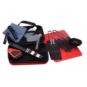 msr alpine deluxe kitchen set- Save 16% Off - MSR Camp & Hike Alpine Deluxe Kitchen Set 5337. A releasable webbing handle makes the protective zippered case easy to hang anywhere and inside two generous mesh pockets replace old-school elastic loops that tend to limit versatility stretch-out and lose their grip over time. You'll find innovations such as our new combination pot strainer/cheese grater moisture-resistant salt and pepper shaker folding cutting board stainless steel Utility Knife and more.