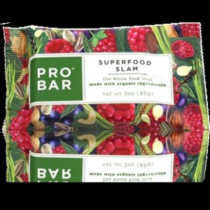 probar superfood slam bar - 12 pack- Save 22% Off - Probar Energy Run Blocks & Bites Super Slam Bar - 12 Pack 98212p. Organic acai berries pure raspberries dark chocolate and live greens are blended together with PROBAR's 15 signature whole food ingredients for a bar that is good for you and tastes super.
