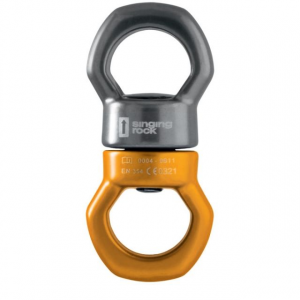 singing rock twister swivel- Save 9.% Off - Singing Rock Big Wall & Protection Twister Swivel K00300600. Universal size. Side light-alloy reinforcements. Easy and quick fastening with velcro.