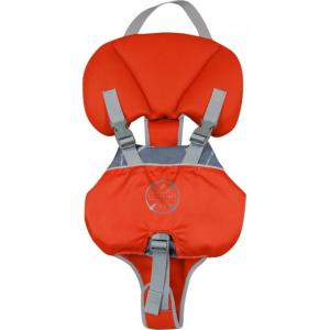level 6 puffer infant's pfd-blaze red-infant- Save 25% Off - Level 6 Paddle Puffer Infant's PFD-Blaze Red-Infant GBTPUFF. The collar supports your babyaos head while adjustable shoulder buckles and a leg buckle secure the PFD in place. An adjustable waist strap and webbing harness add security and comfort.