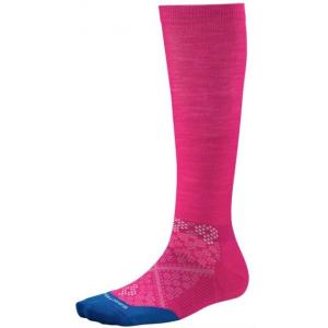 smartwool phd run graduated compression ultra light sock - women's-bright pink-medium- Save 35% Off - Smartwool Footwear PhD Graduated Compression Ultra Light Sock - Women's-Bright Pink-Medium.
