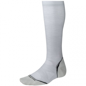 smartwool phd run graduated compression ultra light sock - men's-silver-x-large- Save 49% Off - Smartwool Footwear PhD Graduated Compression Ultra Light Sock - Men's-Silver-X-Large. This ultra light cushioned sock protects against shock and abrasion.