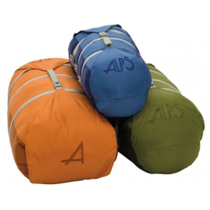 alps mountaineering cyclone stuff sack-x-large- Save 50% Off - ALPS Mountaineering Backpack Accessories Cyclone Stuff Sack-X-Large 7461003. There is a strap that connects the bottom and top lid so you can cinch down the top as much or as little as you need to adjust the length depending on what you are carrying on each trip. In addition there are three straps that compress the diameter. Available in three sizes