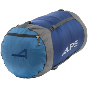 alps mountaineering compression stuff sack-x-large- Save 40% Off - ALPS Mountaineering Backpack Accessories Compression Stuff Sack-X-Large 7460003. Each Compression Stuff Sack comes equipped with a zippered pocket on the top lid to keep small items separate and easy to get to. The straps connect the bottom and top lid so you can cinch down the top as much or as little as you need to adjust the length depending on what you are carrying on each trip.