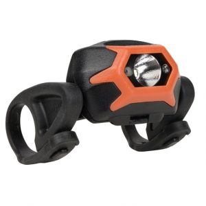 inova sts dual color led waterproof bike light,142 lumens,orange- Save 20% Off - INova Accessory Lights STS Dual Color LED Waterproof Bike Light142 Lumensorange HLSBA19R7. Mounted with a durable UV resistant elastomer that securely grips to your bike the STS Bike Light attaches with a quick pull-and-lock movement right between the handlebars (no tools required) on nearly any bike. The brilliant LED light is housed in an impact-resistant waterproof polycarbonate bracket and operates in multiple modes and two colors (white or red). It's activated by a quick swipe of the finger across the top of the light - swipe once for high steady beam to safely illuminate the path ahead twice for medium beam three times for flash mode to make yourself safely visible to others around you. Mount a second Inova STS Bike Light to your seat post and set it to red flash mode to be clearly visible to others from all directions. Simple to remove when you park your bike the light itself is also easily detached from the base so you don't have to take the whole thing with you.