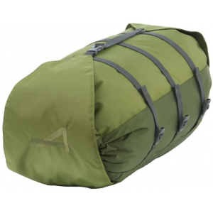 alps mountaineering cyclone stuff sack-large- Save 50% Off - ALPS Mountaineering Backpack Accessories Cyclone Stuff Sack-Large 7361003. There is a strap that connects the bottom and top lid so you can cinch down the top as much or as little as you need to adjust the length depending on what you are carrying on each trip. In addition there are three straps that compress the diameter. Available in three sizes