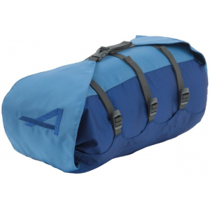alps mountaineering cyclone stuff sack-medium- Save 50% Off - ALPS Mountaineering Backpack Accessories Cyclone Stuff Sack-Medium 7261003. There is a strap that connects the bottom and top lid so you can cinch down the top as much or as little as you need to adjust the length depending on what you are carrying on each trip. In addition there are three straps that compress the diameter. Available in three sizes