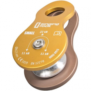 singing rock pulley mini roll- Save 9.% Off - Singing Rock Big Wall & Protection Pulley Mini Roll K0040EE00. For use with static and dynamic ropes. Diameter of sheave20 mm. Unique production number on each piece.