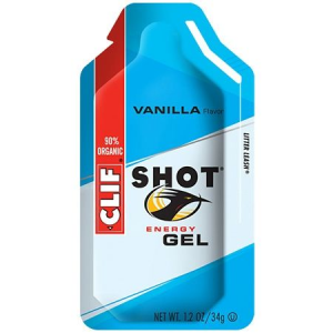 clif shot vanilla energy gel-single- Save 12% Off - Clif Camp & Hike Shot Vanilla Energy Gel-Single 110424. 8 flavors with ingredients that are 90percent organic and a thin consistency make getting energized between breaths quick and easy. With Litter Leash Packaging. Your performance will be anything but vanilla with this sweet + smooth Shot at your side.