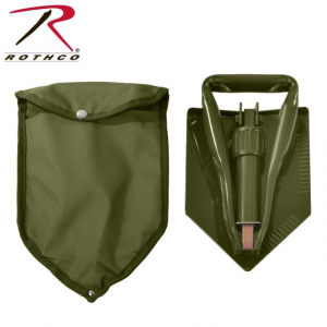 rothco deluxe tri-fold shovel, with cover- Save 21% Off - Rothco Avalanche Safety Deluxe Tri-Fold Shovel With Cover 849WithCover. S. Military