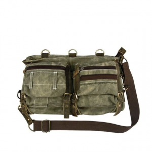 rothco stone washed canvas mesh bag, stone- Save 32% Off - Rothco Camp & Hike Stone Washed Canvas Mesh Bag Stone 9135Stone. Heavyweight Canvas Stonewashed 4 Leather Straps On Front With brass Color Buckles