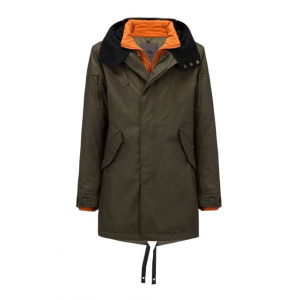 spiewak 25 degrees systems fishtail parka - men -olive-x-large- Save 44% Off - Spiewak Men's Apparel Clothing 25 Degrees Systems Fishtail Parka - Men -Olive-X-Large. The internal layer is detachable and can be worn separately leaving the outer shell with decorative zipper details parallel to the primary zipper closure. This parka is great for the coldest of days when all you want is to be warm.