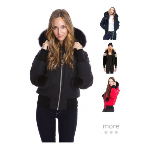 57d62ca9c Price search results for Moose Knuckles Debbie Bomber Jacket ...