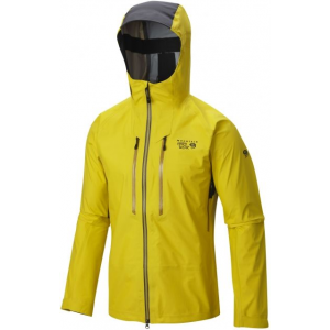 mountain hardwear seraction jacket - men's-electron yellow-small- Save 33% Off - Mountain Hardwear Men's Alpine Jackets Seraction Jacket - Men's-Electron Yellow-Small 1518081710S. Designed in collaboration with alpinist and ice climber Tim Emmett the Mountain Hardwear Seraction Jacket's Dry.Q Elite waterproof technology starts expelling excess heat and vapor immediately for instant breathability during rigorous climbs. Stretch panels across the back and hood allow maximum mobility.