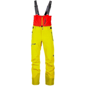 marmot la meije pant - men's -citronelle/rocket red-xx-large-regular inseam- Save 52% Off - Marmot La Meije Pant - Men's -Citronelle/Rocket Red-XX-Large-Regular Inseam. These pants feature a removable softshell bib to help keep the snow out RECCO Avalanche Rescue Reflector for added safety when you hit the back country internal gaiters to keep the snow out of your boots and many more fantastic features.