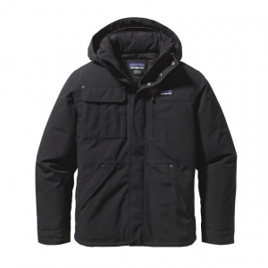 patagonia wanaka down jacket - men's-x-small-black/forge grey- Save 33% Off - Patagonia Men's Apparel Clothing Wanaka Down Jacket - Men's-X-Small-Black/Forge Grey. Equipped with a DWR (durable water repellent) finish and removable hood and insulated with 100percent Traceable Down this jacket will keep you warm and dry in extreme weather and is also perfect for an urban setting.