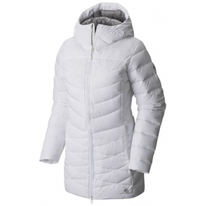 mountain hardwear downhill metro coat - women's-white-medium- Save 33% Off - Mountain Hardwear Downhill Metro Coat - Women's-White-Medium. With Q.Shield DOWN for ultimate comfort that doesn't overheat and slender quilted channels that hold maximum warmth and minimize bulk at the same time the Downhill Metro Coat will keep you warm and stylish this season. Complete with secure zippered pockets and wrist and neck closures to hold in warmth when the going gets tough.