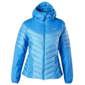 berghaus ulvetanna hybrid down jacket - women's-blue splash/cloisonne-x-large- Save 33% Off - Berghaus Ulvetanna Hybrid Down Jacket - Women's-Blue Splash/Cloisonne-X-Large. This jacket has been extensively tested in extreme conditions and is the latest product to emerge from the renowned MtnHaus design and development team.