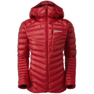 berghaus extrem micro down jacket - women's-ski patrol-10- Save 33% Off - Berghaus Women's Alpine Insulated Jackets Extrem Micro Down Jacket - Women's-Ski Patrol-10. As you're topping out on the Grandes Jorasses and the sun is setting over Mont Blanc the cool alpine air will make you reach for this bundle of warmth. PERTEX QUANTUM CS10 outer fabric is extremely lightweight yet tough enough to stand its ground on any harsh route. On the inside Berghaus' newly updated water-repellent Hydrodown provides the ultimate warmth that will keep on working wherever you are even when it's wet. Designed specifically with female alpinists in mind the Extrem Micro Down Jacket boasts a flattering silhouette streamlined design and a mountain full of useful features such as a helmet-compatible hood with wired peak for added protection.